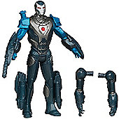 Marvel Iron Man 3 Assemblers 10cm Figure - Hypervelocity Iron Man