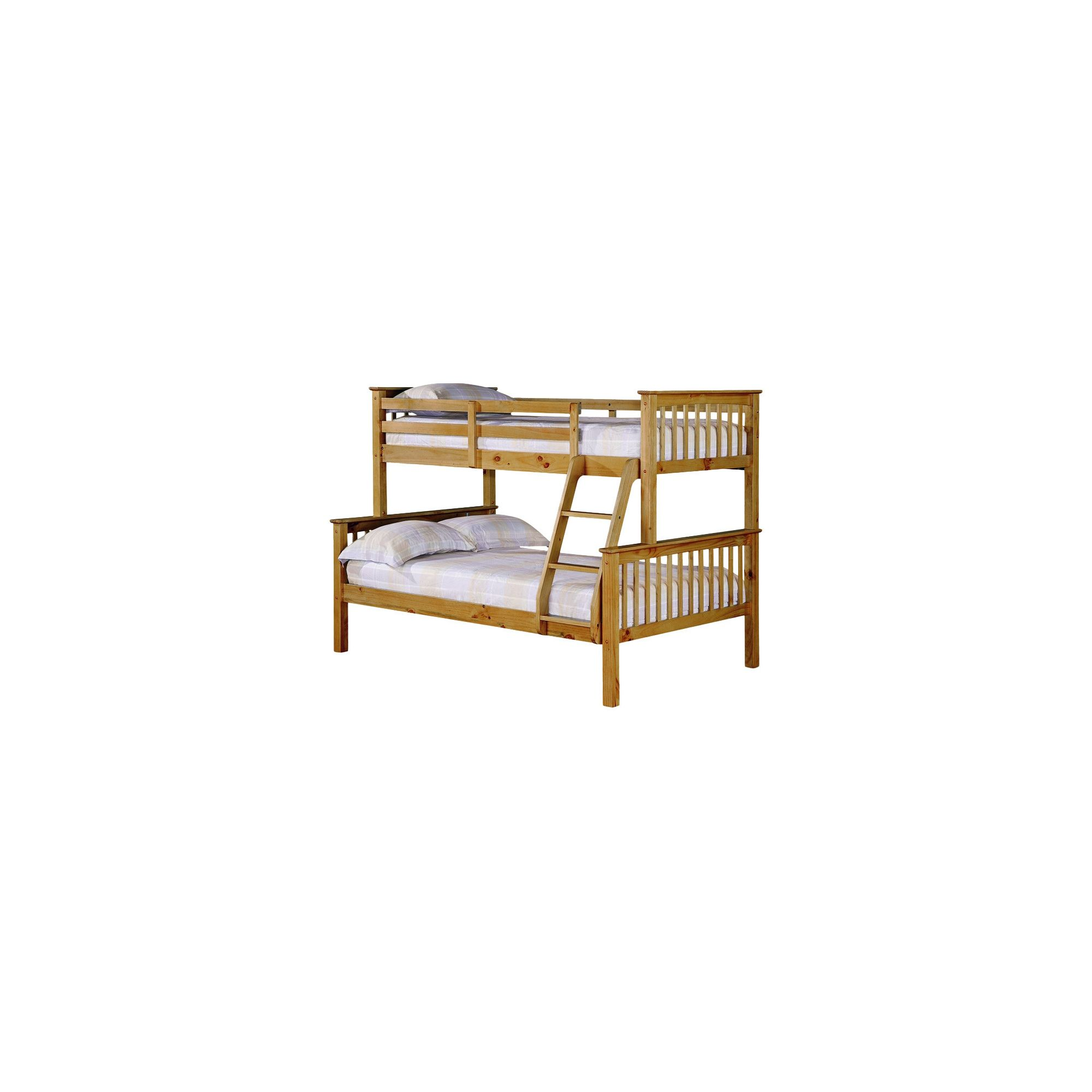 Home and garden furniture mika twin bunk bed frame for Furniture zone beds