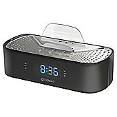 Groov-e Clock Radio, Black