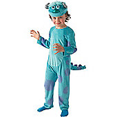 Child Monsters University Deluxe Sulley Costume Small