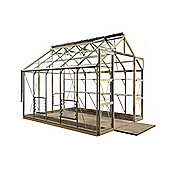 Rhino Premium Greenhouse – 8x10 - Antique Ivory Finish