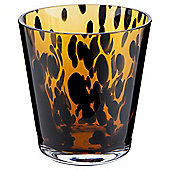 Tesco Tealight Holder Tortoise Shell Effect