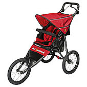 Out n About Nipper Sport Pushchair V4, Carnival Red