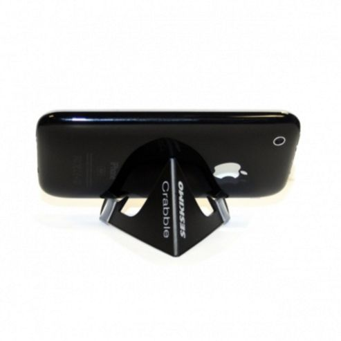 Crabble Video Stand for Universal Smartphone and MP3 Devices - Black