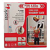 Stork Childcare Products Safety Gate (Standard Height - White)