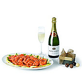 salmon, champagne & truffles (SS19)