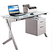 Aspect Design Computer Desk - White