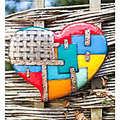 Wall Heart (wide) - set of 2