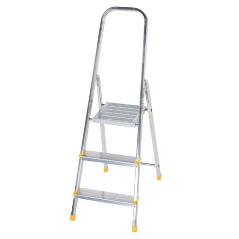 DIY 3 Tread Platform Step Ladder