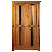 Sweet Dreams Curlew 2 Door Wardrobe - Oak