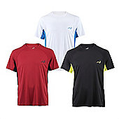 Woodworm Mxt Mens Training Shirts 3 Pack X Large