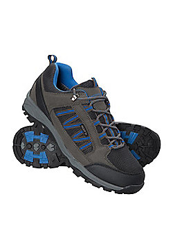 Mens Path Waterproof Walking Hiking Shoes - Grey