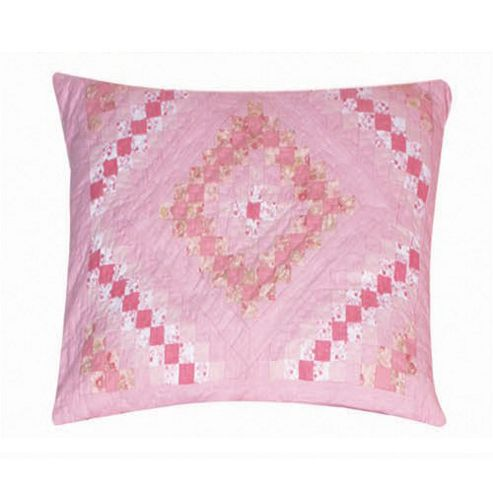 Woven Magic Trip Around The World Pink Cushion