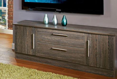 Welcome Furniture Living Room Wide 2 Door / 2 Drawer TV Unit - Panga