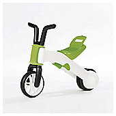 Chillafish Bunzi 2 in 1 Balance Bike, Green