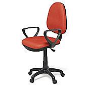 Hispanohogar Office Chair - Red