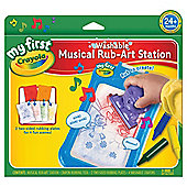 Crayola My First Musical Rub Art Station