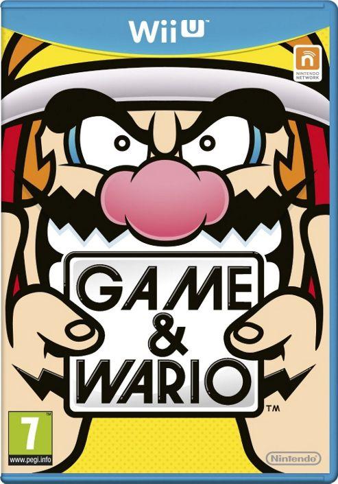 Wii U Game & Wario