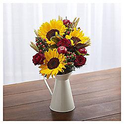 Sunflower & Hypericum Jug