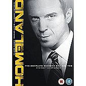 Homeland Seasons 1 & 2 (DVD)