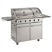 Raymond Blanc 3 Burner Gas BBQ & Infra Red & Side Burner