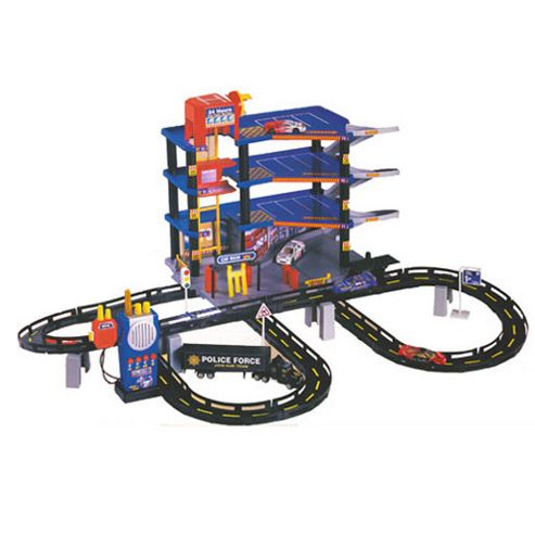 Jumbo Garage and Cars Playset