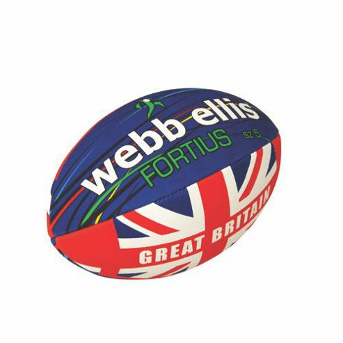 Webb Ellis Fortius Flag Rugby Ball Size 5