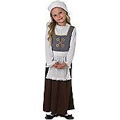 Tudor Girl - Child Costume 5-6 years