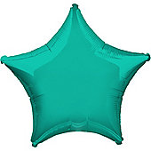 Teal Star Balloon - 19' Foil (each)
