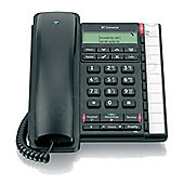 BT Converse 2300 Telephone with Caller Display, 10 Redial 100-entry Directory (Black)