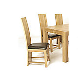 Elements Eton Oak Dining Chair (Set of 2)