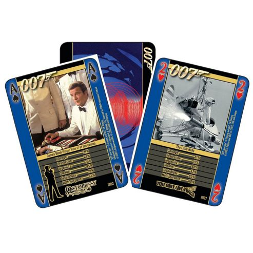 James Bond 4-in-1 Guns And Gadgets - Playing Cards - Cartamundi