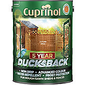 Cuprinol 5 Year Ducksback - Autumn Gold - 5L