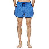 F&F Sporty Short Length Swim Shorts - Blue