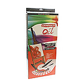 Daler Graduate Oil Table Easel Set