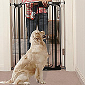 Bindaboo Extra Tall Easy Close Pet Security Gate Black