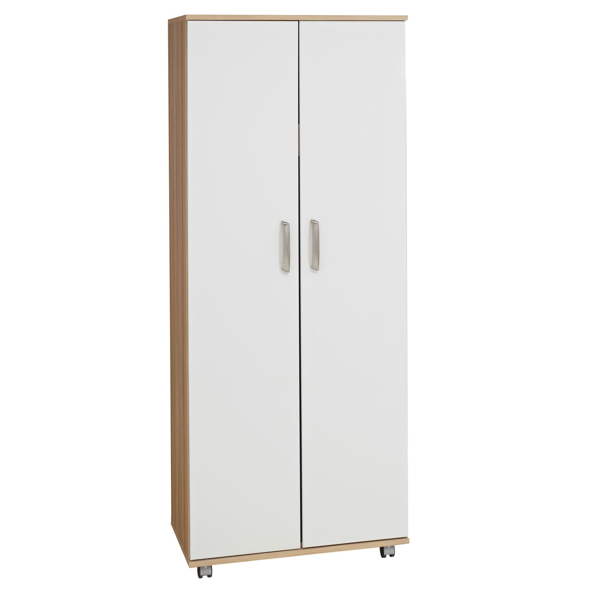 Ideal Furniture Regal 2 Door Palin Wardrobe in white at Tesco Direct