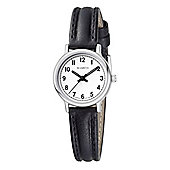 M-Watch Black & White Ladies Leather Watch A658.30546.01