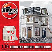European Corner House Ruin (A75003) 1:76