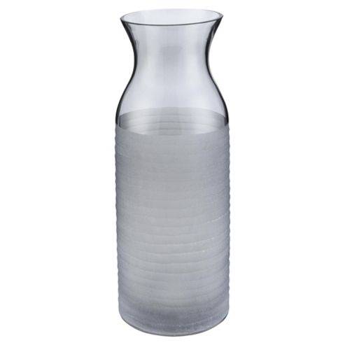buy tesco tall grey frosted vase from our vases bowls. Black Bedroom Furniture Sets. Home Design Ideas