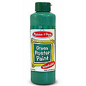 Melissa And Doug 8oz Poster Paint Green