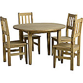 Home Essence Mexican Round Table and Chair Set