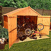 BillyOh 300 4 x 6 Apex Tongue and Groove Bike Store Mini Shed