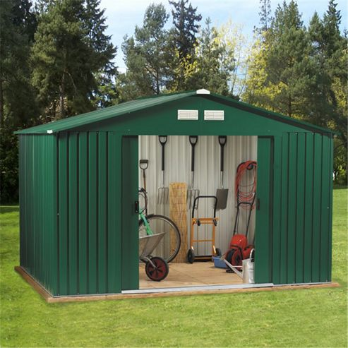BillyOh Clifton 10 x 8 Premium Metal Shed