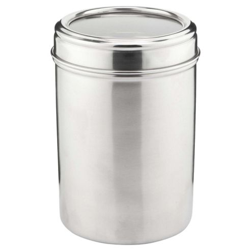 Tesco Stainless Steel Canister