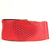 """Ribbon Wired Edge - 2.5"""" x 10y - Red"""