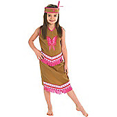 Indian Squaw - Child Costume 5-6 years