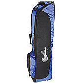 Confidence Golf Bag Travel Cover With Wheels Royal Blue