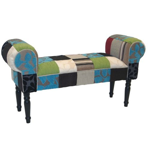 buy shabby chic chaise pouffe stool wood legs blue green red from our dining chairs. Black Bedroom Furniture Sets. Home Design Ideas