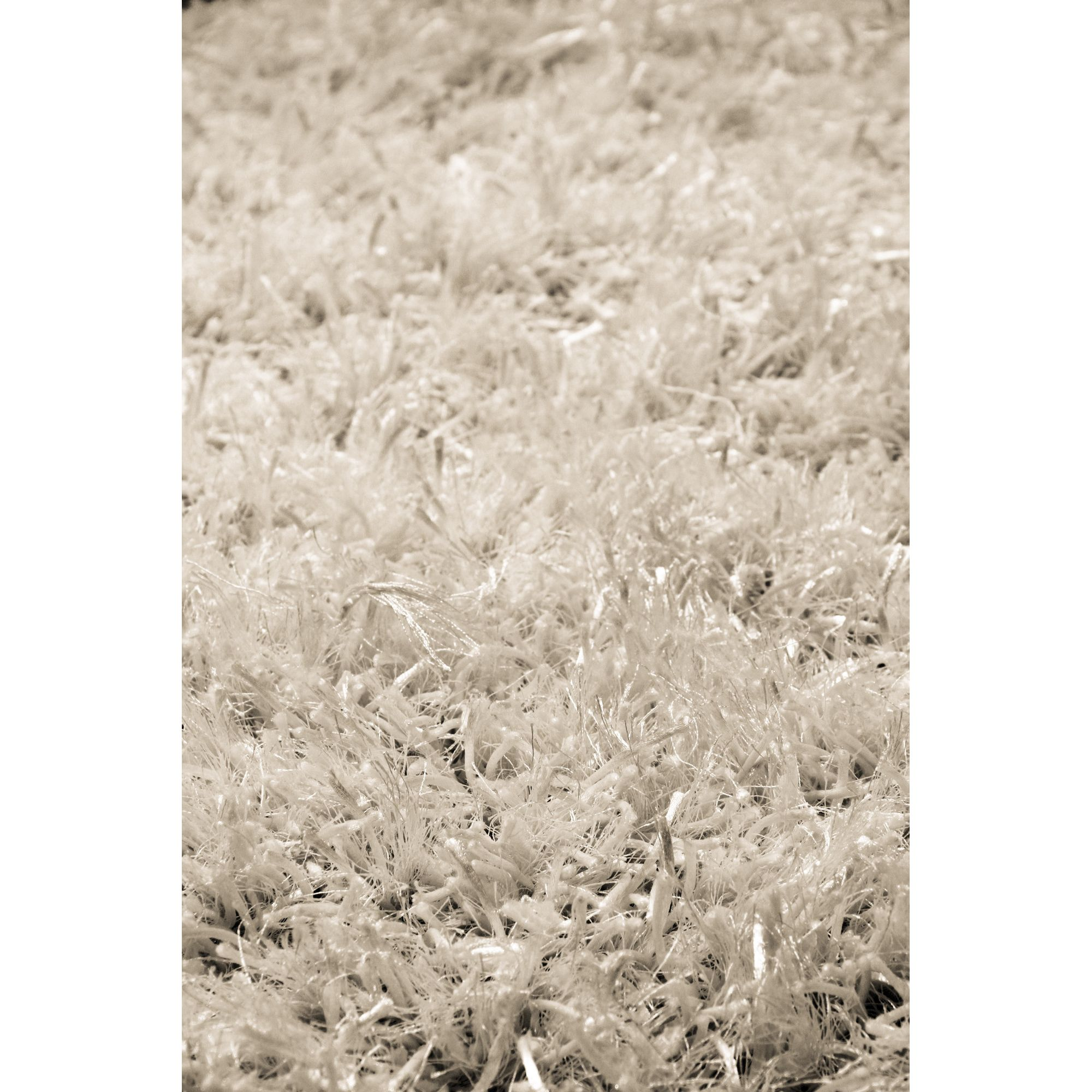 InRUGS Diamond White Shaggy Rug - 230cm x 160cm (7 ft 6.5 in x 5 ft 3 in)